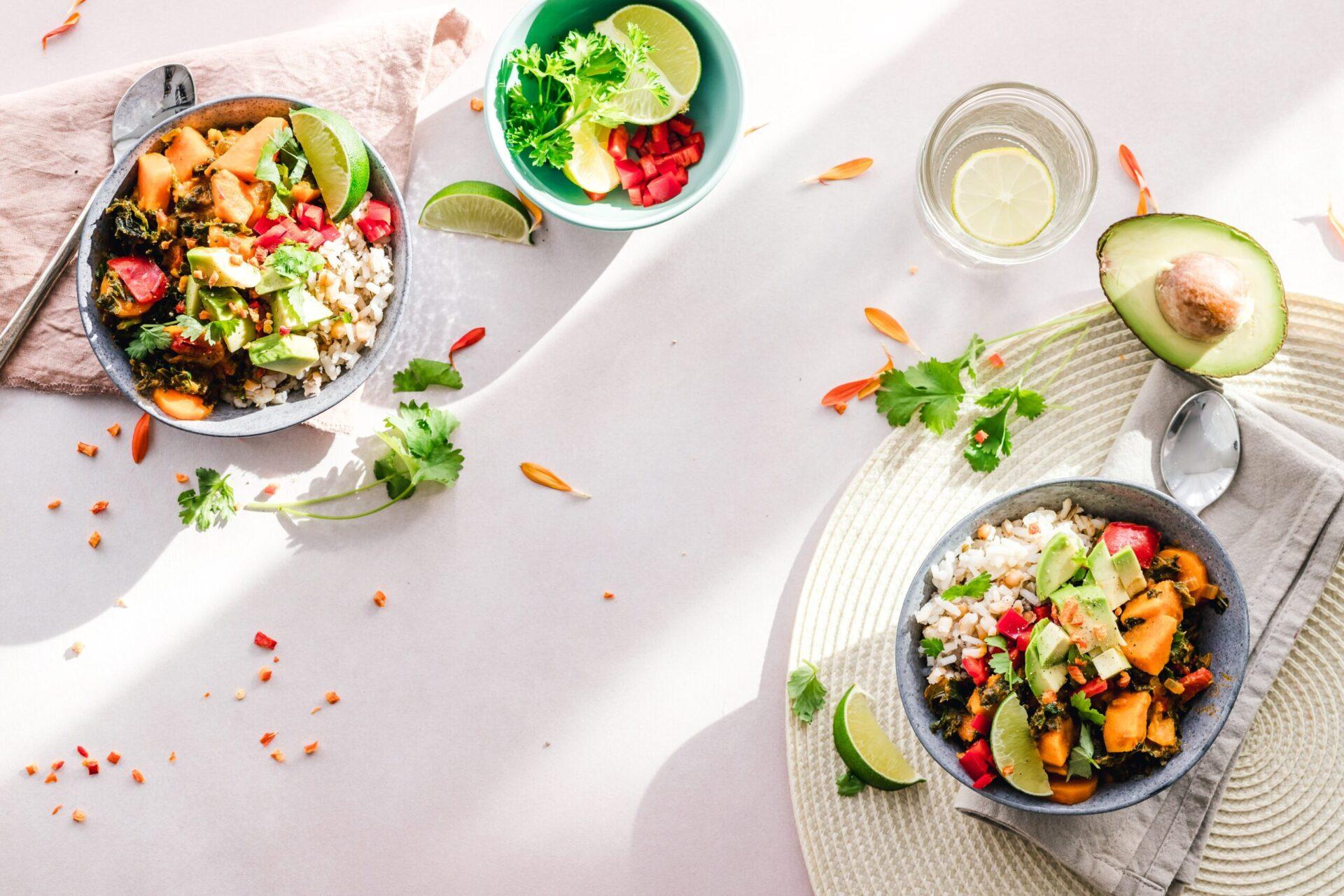 Övergå till vegansk kost med hälsosamma recept